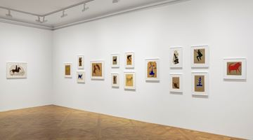 Contemporary art exhibition, Bill Traylor, Bill Traylor at David Zwirner, 69th Street, New York