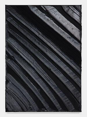Peinture 81 x 57 cm, 27 septembre 2013 by Pierre Soulages contemporary artwork