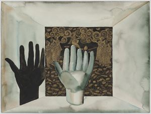 Shadow XIX by Francesco Clemente contemporary artwork