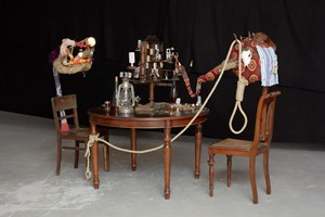 Skat Chess by John Bock contemporary artwork