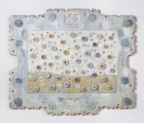 Eyeball Painting 2 by Ashley Bickerton contemporary artwork