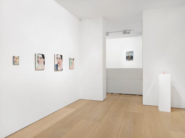 Exhibition view: Chantal Joffe, Victoria Miro, Mayfair, London (11 April–18 May 2019).© Chantal Joffe. Courtesy the artist and Victoria Miro, London/Venice.