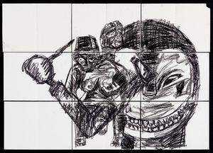 Veridical Paradox (P3) by Pierre Mukeba contemporary artwork
