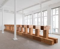 THEBES by Carl Andre contemporary artwork installation