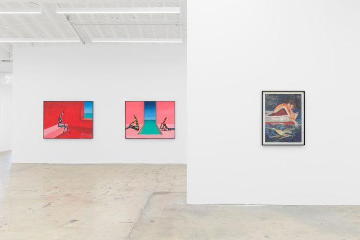 Exhibition view: Group exhibition, Wish You Were Here,Anat Ebgi, 6150 Wilshire Blvd (24 July–11 September 2021).Courtesy Anat Ebgi, Los Angeles.
