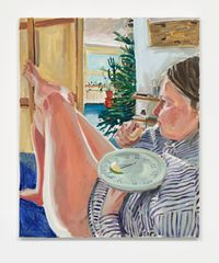 Breakfast (Winter 2020) by Elizabeth Ravn contemporary artwork painting
