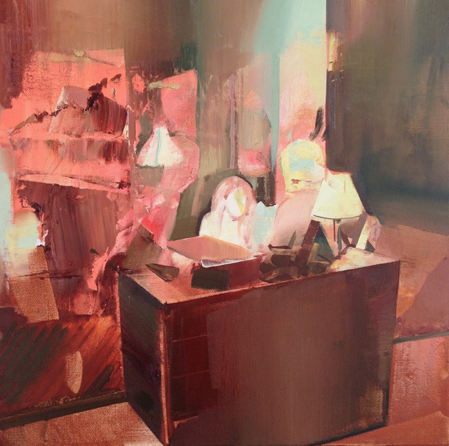 The Guest Book by David Ralph contemporary artwork