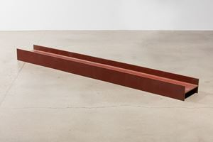 Untitled (Steel Beam) by Kaz Oshiro contemporary artwork