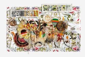 Quartet Four by Judy Pfaff contemporary artwork