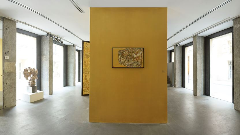 Exhibition view: Tang Mian, C.M.Y.K., A2Z Gallery, Paris (16 July–5 September 2020).  Courtesy A2Z Gallery.