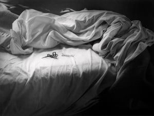 Unmade Bed by Imogen Cunningham contemporary artwork