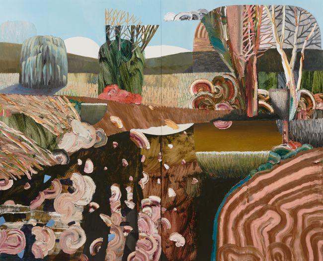 Berkele's Creek by Guy Maestri contemporary artwork