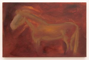 Beloved Tazz at the Farm by Dominique Knowles contemporary artwork