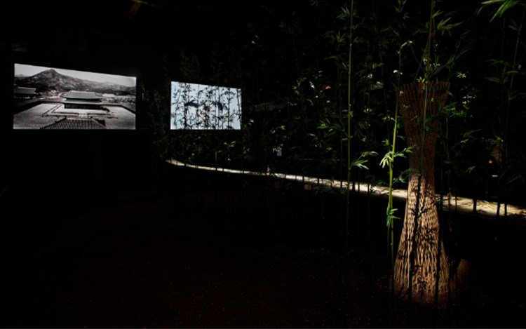DMZ Project夢의 庭園 / Dreaming of EarthExhibition view. Photo: Taedong Kim.Image provided by Kukje Gallery.