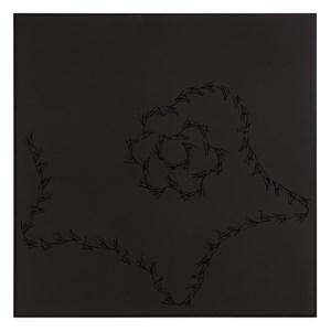 Lines on Black (Marisol, Warhol, Lichtenstein) by Anri Sala contemporary artwork