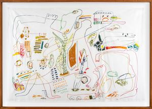No hay tiempo by Cristina Umaña contemporary artwork