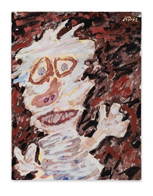 Personnage (buste) by Jean Dubuffet contemporary artwork