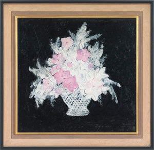 Basket of Flowers by Sanyu contemporary artwork