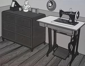 Interior No. 2 by Li Bangyao contemporary artwork