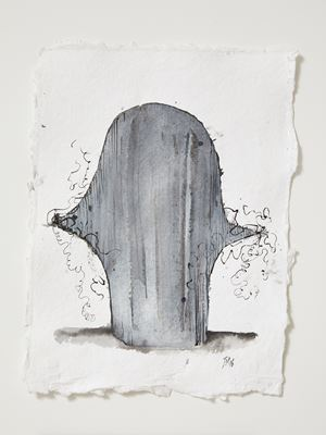 Head[case] working drawing 42 by Julia Morison contemporary artwork