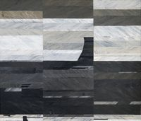 A Piece of Land within the Frame  2 by Kaushik Saha contemporary artwork painting