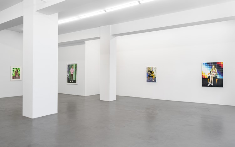 Exhibition view: Raffi Kalenderian, Always in Rare Form, Buchmann Galerie, Berlin (23 February–14 April 2018). Courtesy Buchmann Galerie.