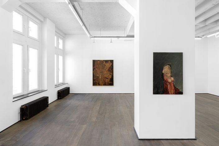 Exhibition view:Roger-Edgar Gillet,Stéphane Janssen – Roger-Edgar Gillet, une amitié de 40 ans, rodolphe janssen, Brussels (3 June–10 July 2021).Courtesy rodolphe janssen, Brussels. Photo:HV photography.