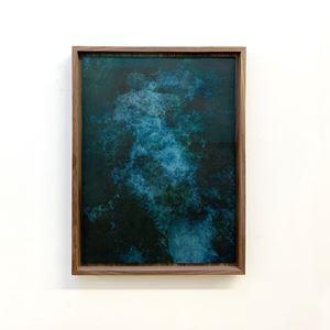 Akui Gawa Indigo #2 by Kim Boske contemporary artwork