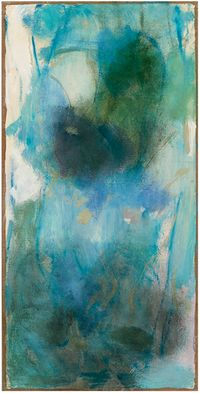 Blue Plum by Terrell James contemporary artwork painting