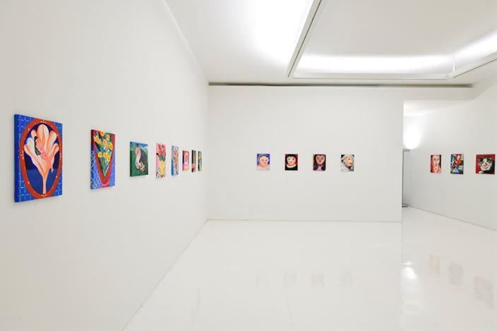 "Exhibition view: Aki Kondo, ShugoArts Online – Exhibition: ""Flowers in the Heart"" (25 April–30 May 2020). Courtesy ShugoArts."