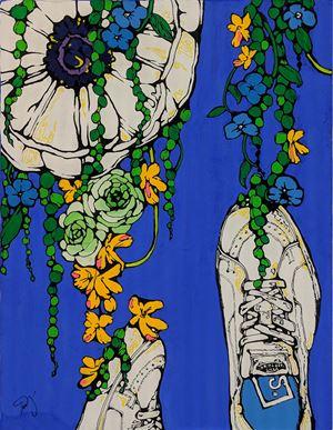 Sneaker's II by Icco YOSHIMURA contemporary artwork