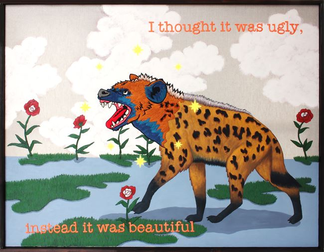 I thought it was ugly, instead it was beautiful by Koichiro Takagi contemporary artwork