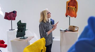 Contemporary art exhibition, Arlene Shechet, Together at 68 Park Place, East Hampton, NY, New York