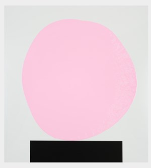 Colour Chart 42 (pink) 12.10.11 by David Batchelor contemporary artwork
