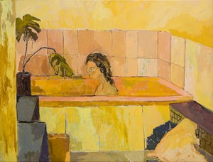 The Bath by Nicole Kelly contemporary artwork
