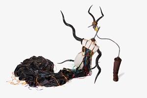 Jong' emva rhamncwa ndini by Nicholas Hlobo contemporary artwork