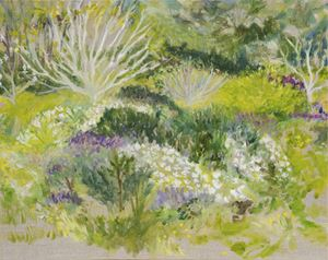 My Garden Path by Star Gossage contemporary artwork