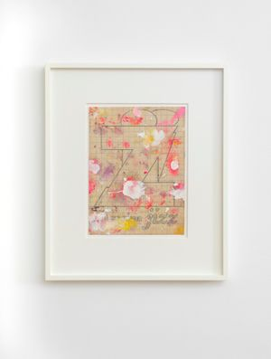 Jizz by Harland Miller contemporary artwork painting, works on paper, drawing