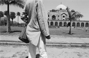 Towards and Indian Gay Image, Humayun's Tomb by Sunil Gupta contemporary artwork