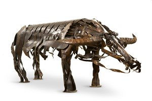 Buffalo 牛 by Hsia Yan contemporary artwork