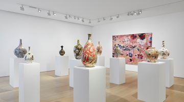 Contemporary art exhibition, Grayson Perry, Super Rich Interior Decoration at Victoria Miro, Mayfair, London, United Kingdom