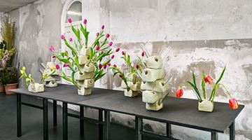 Contemporary art exhibition, Guido Geelen, Tulip Vases at Brutto Gusto, Berlin