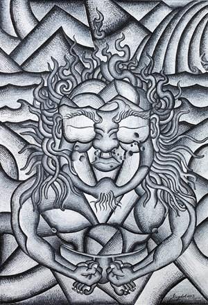 Endurance by Tenzing Rigdol contemporary artwork