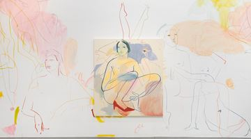 Contemporary art exhibition, France-Lise McGurn, Percussia at Simon Lee Gallery, London