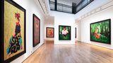 Contemporary art exhibition, Kehinde Wiley, Tahiti at Templon, 28 Grenier Saint-Lazare, Paris, France