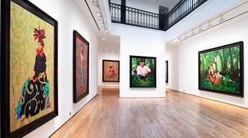 Contemporary art exhibition, Kehinde Wiley, Tahiti at Templon, 28 Grenier Saint-Lazare, Paris