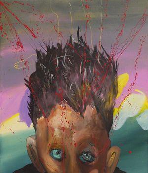 Eifersucht (Jealousy) by David Lehmann contemporary artwork painting