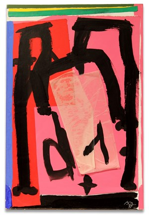 Mexican Collage by Robert Motherwell contemporary artwork