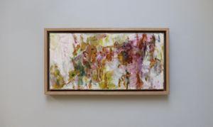 Studio window, late summer II by Terrell James contemporary artwork