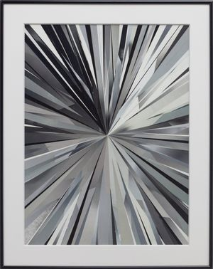 Metro Series (Tunnel) by Gary-Ross Pastrana contemporary artwork painting, works on paper, photography, print